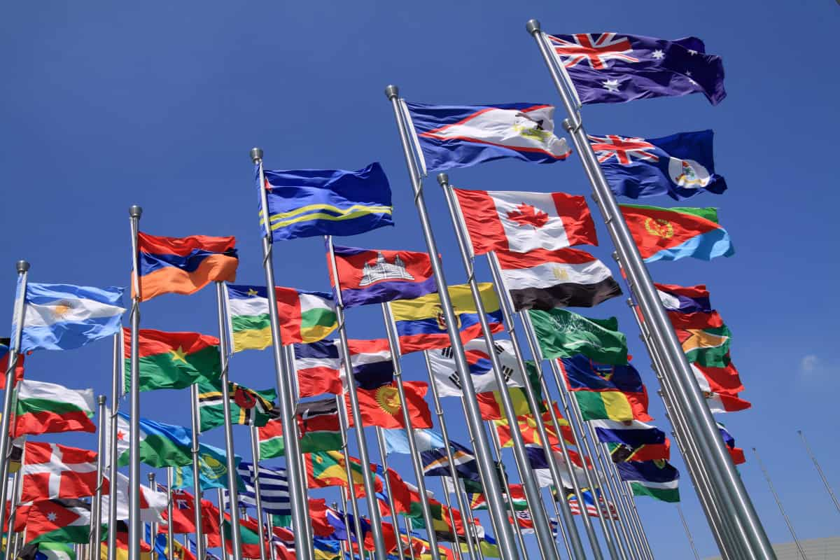 British Commonwealth Flags