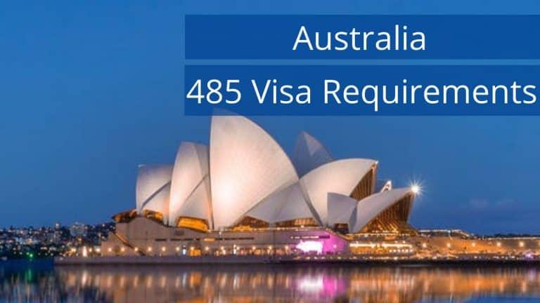 Australia 485 Visa Requirements